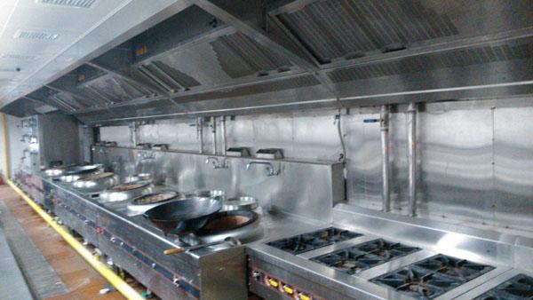 石家庄厨房排烟系统2