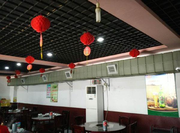 石家庄饭店排烟系统