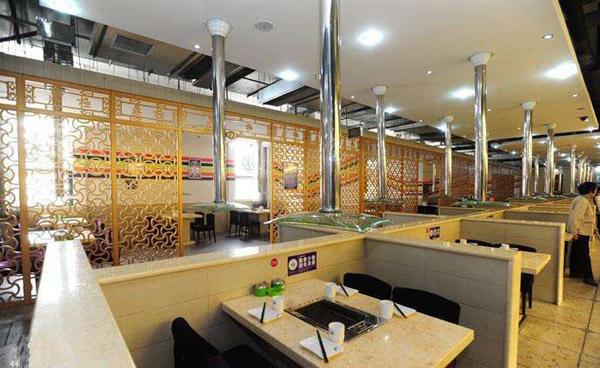 石家庄饭店排烟系统2